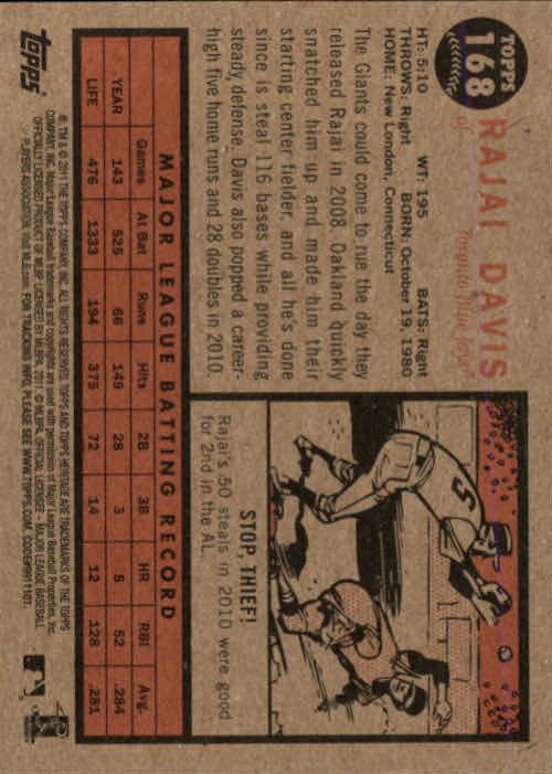 2011-Topps-Heritage-Baseball-Base-Singles-Pick-Your-Cards thumbnail 194