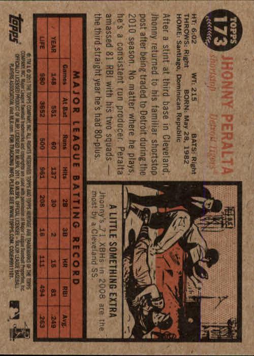 2011-Topps-Heritage-Baseball-Base-Singles-Pick-Your-Cards thumbnail 203