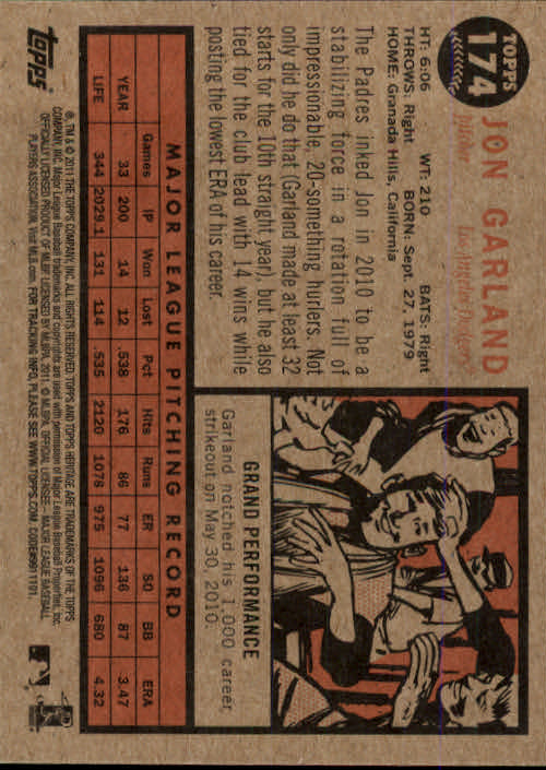 2011-Topps-Heritage-Baseball-Base-Singles-Pick-Your-Cards thumbnail 206