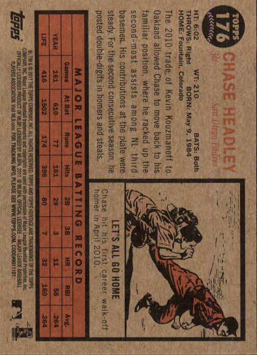 2011-Topps-Heritage-Baseball-Base-Singles-Pick-Your-Cards thumbnail 211