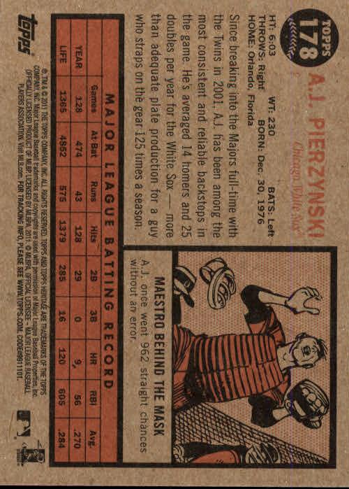 2011-Topps-Heritage-Baseball-Base-Singles-Pick-Your-Cards thumbnail 214