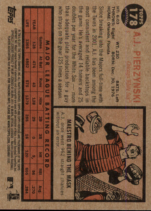2011-Topps-Heritage-Baseball-Base-Singles-Pick-Your-Cards thumbnail 215