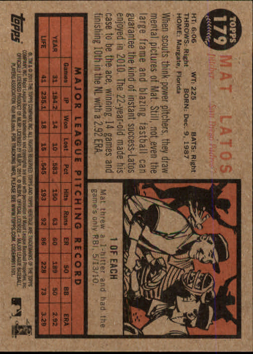 2011-Topps-Heritage-Baseball-Base-Singles-Pick-Your-Cards thumbnail 218