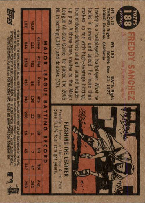 2011-Topps-Heritage-Baseball-Base-Singles-Pick-Your-Cards thumbnail 227