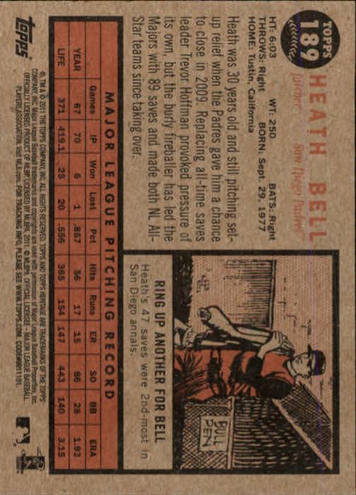 2011-Topps-Heritage-Baseball-Base-Singles-Pick-Your-Cards thumbnail 231