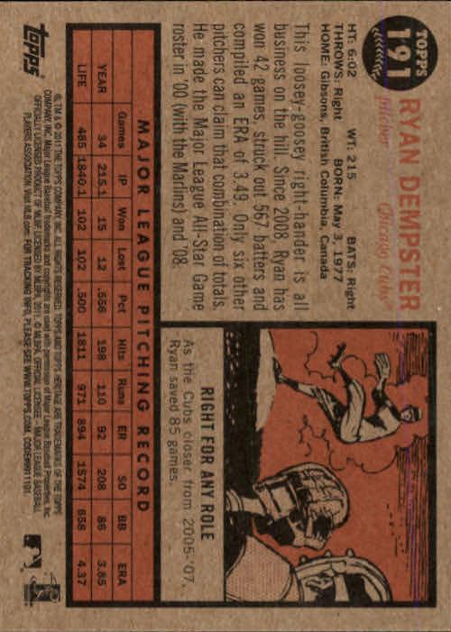 2011-Topps-Heritage-Baseball-Base-Singles-Pick-Your-Cards thumbnail 235