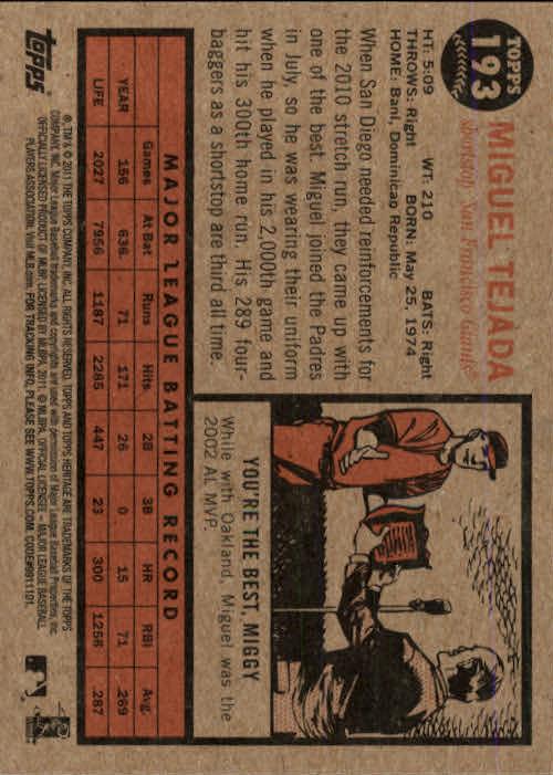 2011-Topps-Heritage-Baseball-Base-Singles-Pick-Your-Cards thumbnail 239