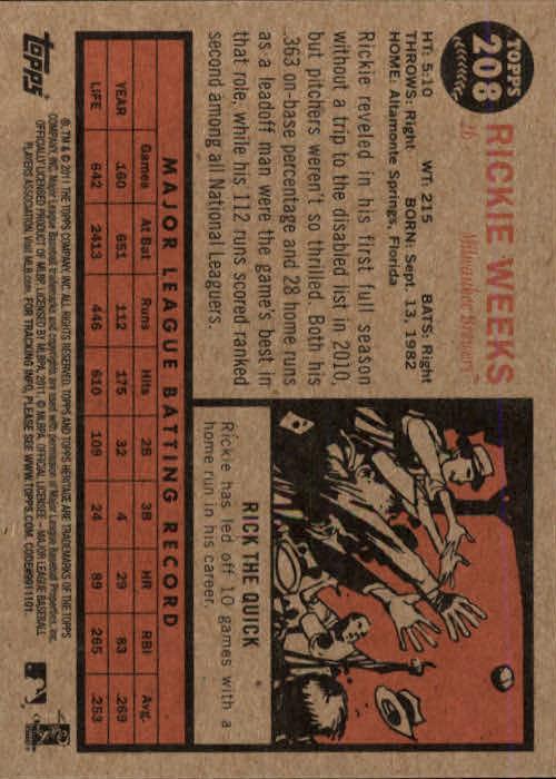 2011-Topps-Heritage-Baseball-Base-Singles-Pick-Your-Cards thumbnail 247