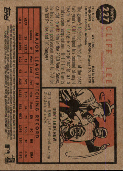 2011-Topps-Heritage-Baseball-Base-Singles-Pick-Your-Cards thumbnail 254