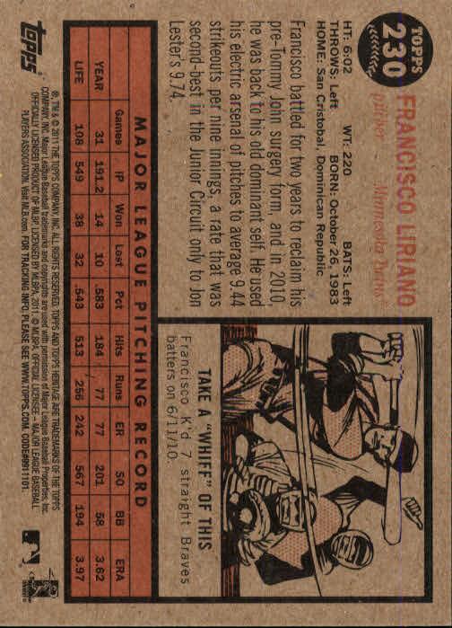 2011-Topps-Heritage-Baseball-Base-Singles-Pick-Your-Cards thumbnail 263
