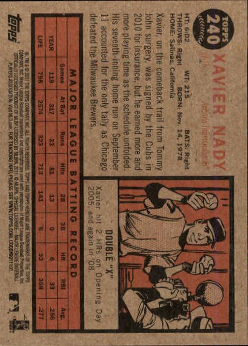 2011-Topps-Heritage-Baseball-Base-Singles-Pick-Your-Cards thumbnail 267