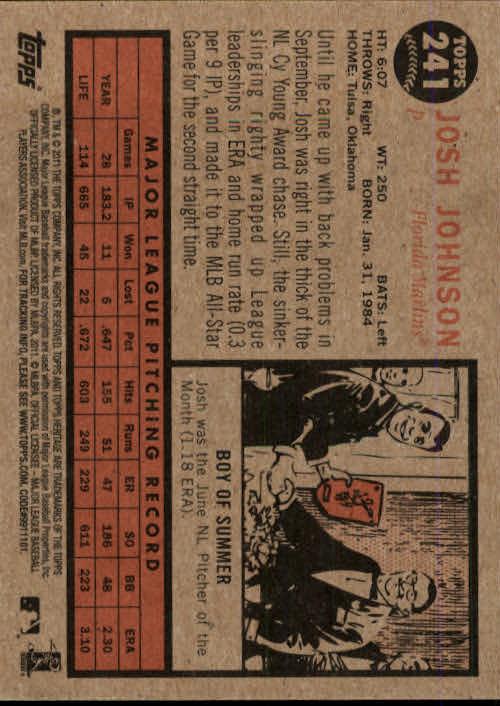2011-Topps-Heritage-Baseball-Base-Singles-Pick-Your-Cards thumbnail 270