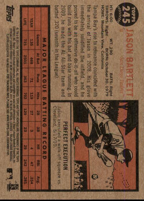 2011-Topps-Heritage-Baseball-Base-Singles-Pick-Your-Cards thumbnail 275
