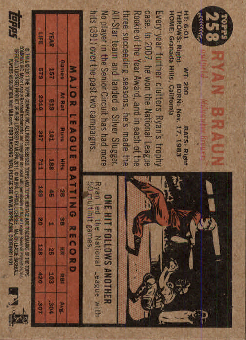2011-Topps-Heritage-Baseball-Base-Singles-Pick-Your-Cards thumbnail 293