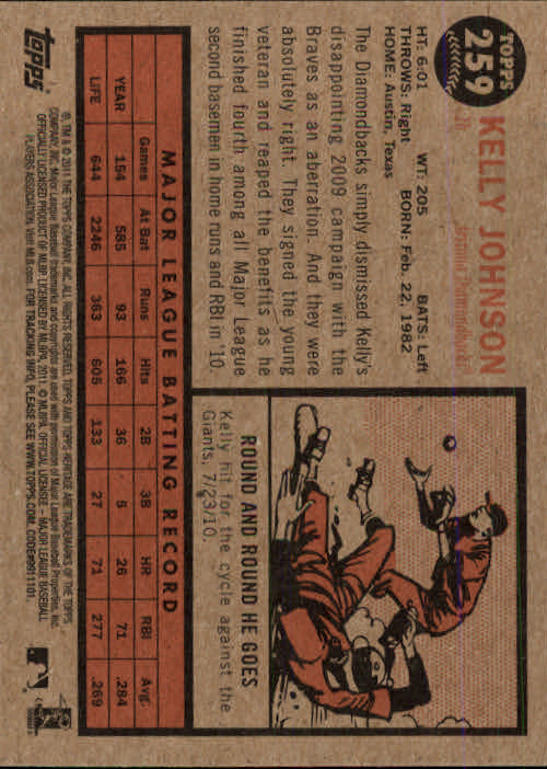 2011-Topps-Heritage-Baseball-Base-Singles-Pick-Your-Cards thumbnail 296