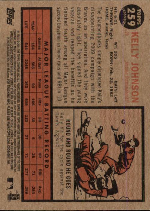 2011-Topps-Heritage-Baseball-Base-Singles-Pick-Your-Cards thumbnail 297