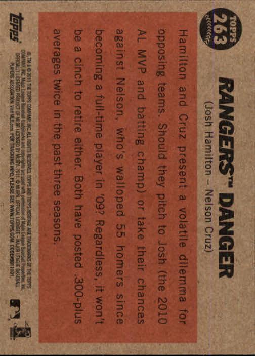 2011-Topps-Heritage-Baseball-Base-Singles-Pick-Your-Cards thumbnail 301