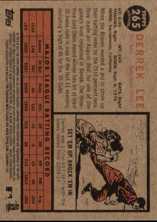 2011-Topps-Heritage-Baseball-Base-Singles-Pick-Your-Cards thumbnail 309