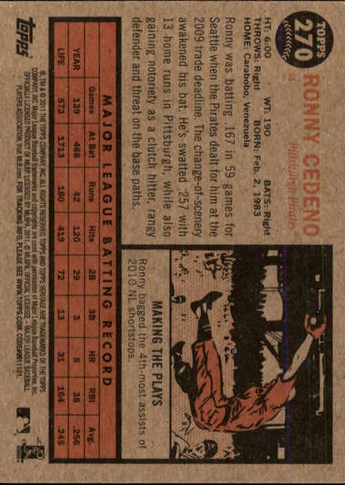 2011-Topps-Heritage-Baseball-Base-Singles-Pick-Your-Cards thumbnail 312