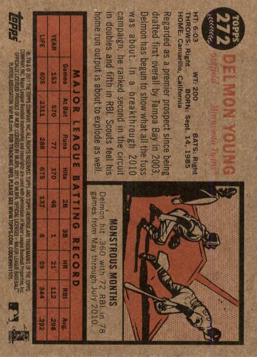 2011-Topps-Heritage-Baseball-Base-Singles-Pick-Your-Cards thumbnail 316