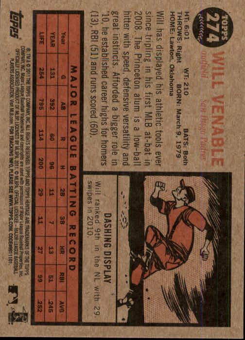 2011-Topps-Heritage-Baseball-Base-Singles-Pick-Your-Cards thumbnail 321