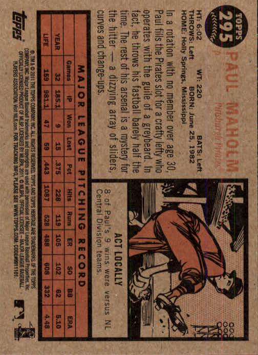 2011-Topps-Heritage-Baseball-Base-Singles-Pick-Your-Cards thumbnail 333