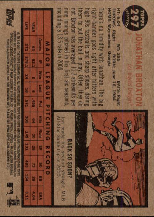 2011-Topps-Heritage-Baseball-Base-Singles-Pick-Your-Cards thumbnail 336