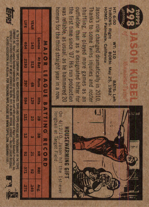 2011-Topps-Heritage-Baseball-Base-Singles-Pick-Your-Cards thumbnail 340