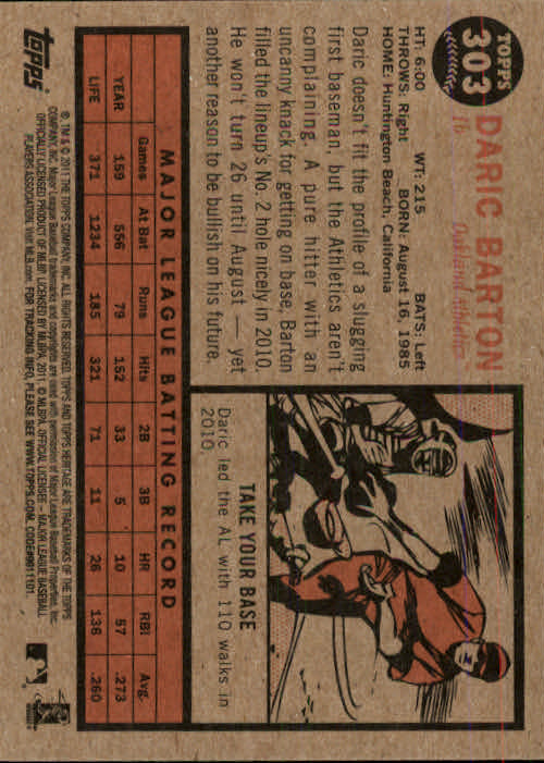 2011-Topps-Heritage-Baseball-Base-Singles-Pick-Your-Cards thumbnail 345