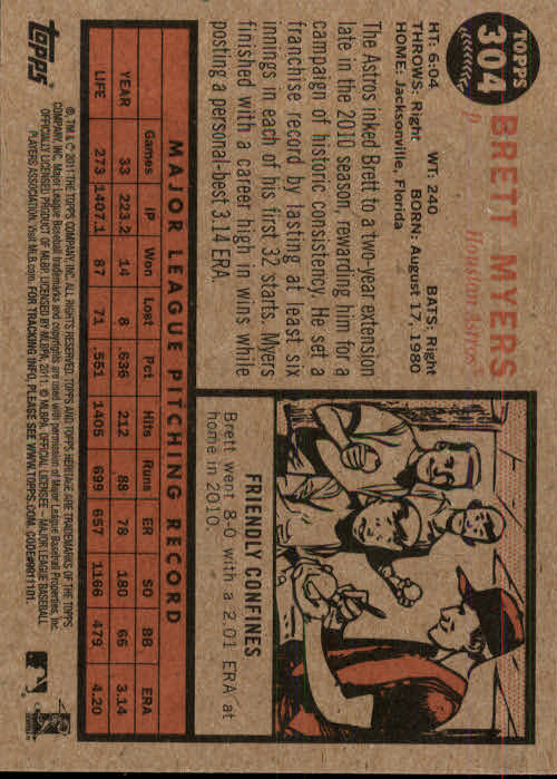 2011-Topps-Heritage-Baseball-Base-Singles-Pick-Your-Cards thumbnail 349