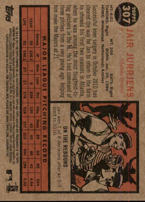 2011-Topps-Heritage-Baseball-Base-Singles-Pick-Your-Cards thumbnail 353