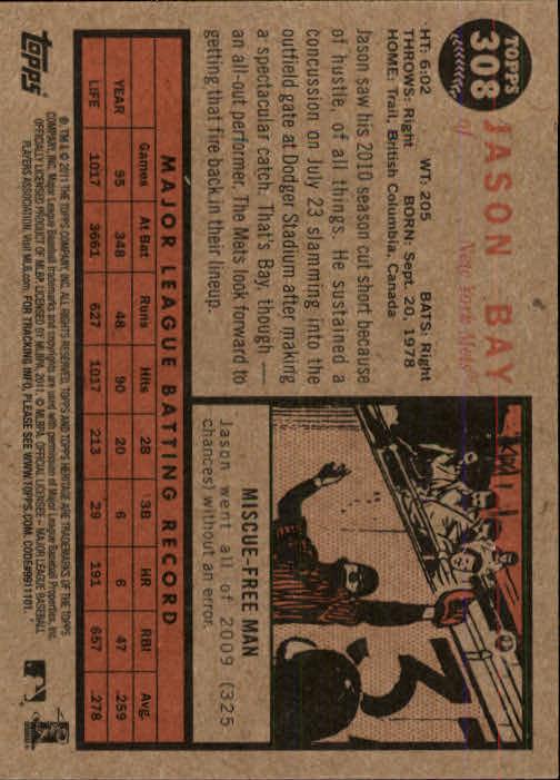 2011-Topps-Heritage-Baseball-Base-Singles-Pick-Your-Cards thumbnail 357