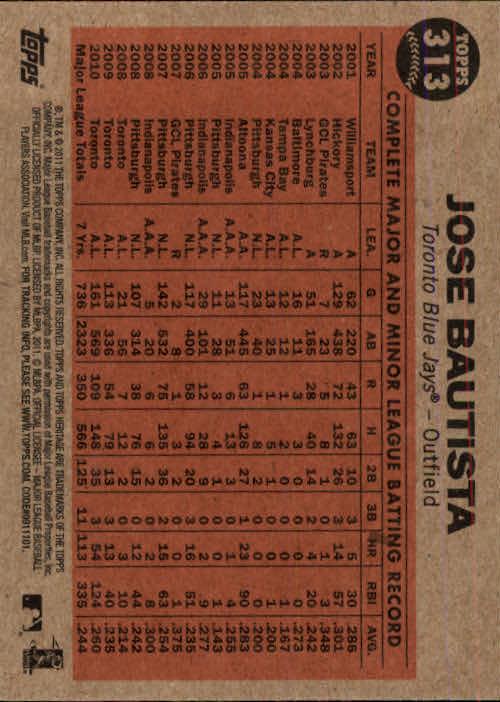 2011-Topps-Heritage-Baseball-Base-Singles-Pick-Your-Cards thumbnail 361