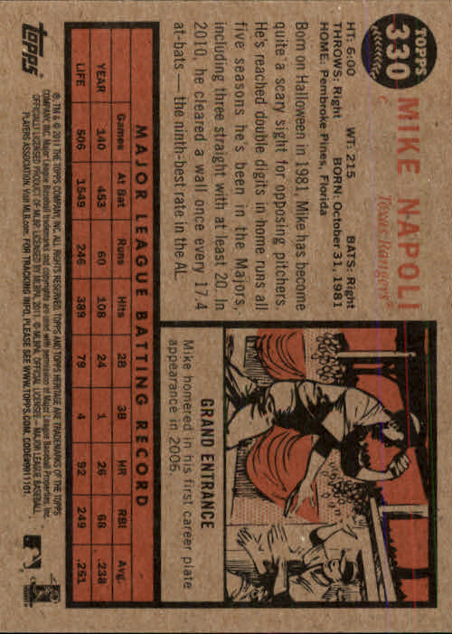 2011-Topps-Heritage-Baseball-Base-Singles-Pick-Your-Cards thumbnail 373