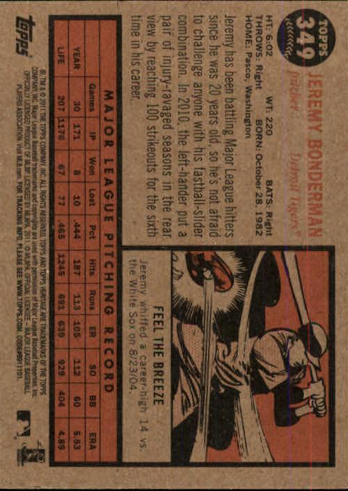 2011-Topps-Heritage-Baseball-Base-Singles-Pick-Your-Cards thumbnail 384