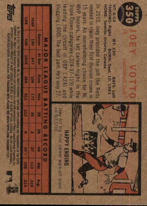 2011-Topps-Heritage-Baseball-Base-Singles-Pick-Your-Cards thumbnail 387