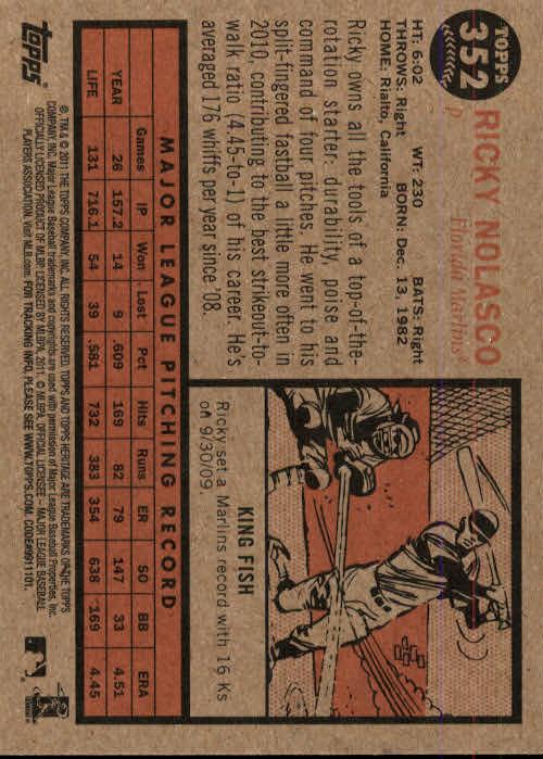 2011-Topps-Heritage-Baseball-Base-Singles-Pick-Your-Cards thumbnail 390