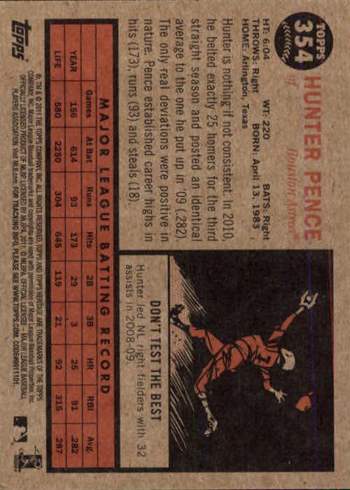 2011-Topps-Heritage-Baseball-Base-Singles-Pick-Your-Cards thumbnail 394