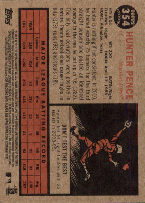 2011-Topps-Heritage-Baseball-Base-Singles-Pick-Your-Cards thumbnail 395