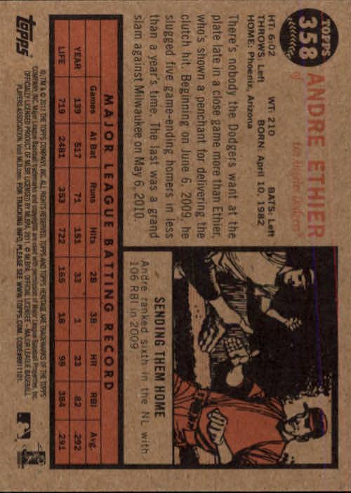 2011-Topps-Heritage-Baseball-Base-Singles-Pick-Your-Cards thumbnail 402