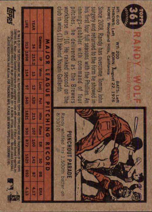 2011-Topps-Heritage-Baseball-Base-Singles-Pick-Your-Cards thumbnail 410