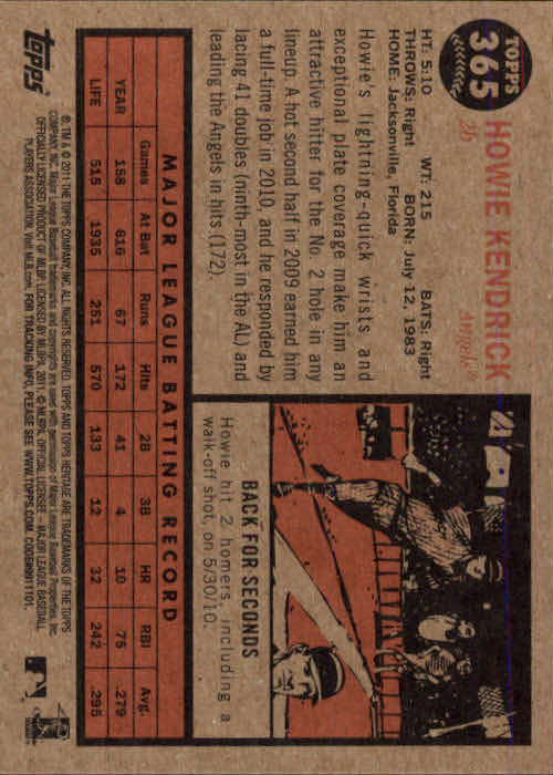 2011-Topps-Heritage-Baseball-Base-Singles-Pick-Your-Cards thumbnail 414