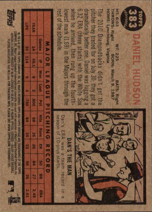 2011-Topps-Heritage-Baseball-Base-Singles-Pick-Your-Cards thumbnail 427