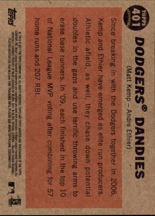 2011-Topps-Heritage-Baseball-Base-Singles-Pick-Your-Cards thumbnail 442