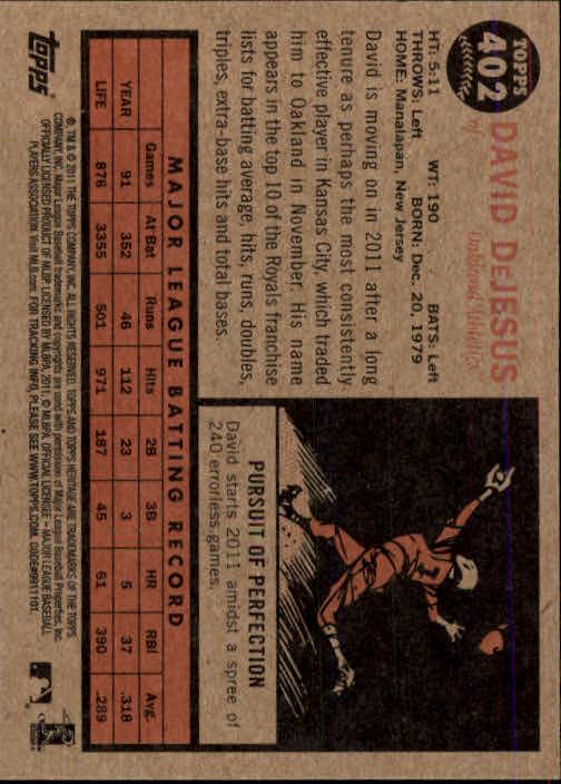 2011-Topps-Heritage-Baseball-Base-Singles-Pick-Your-Cards thumbnail 447