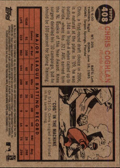 2011-Topps-Heritage-Baseball-Base-Singles-Pick-Your-Cards thumbnail 451