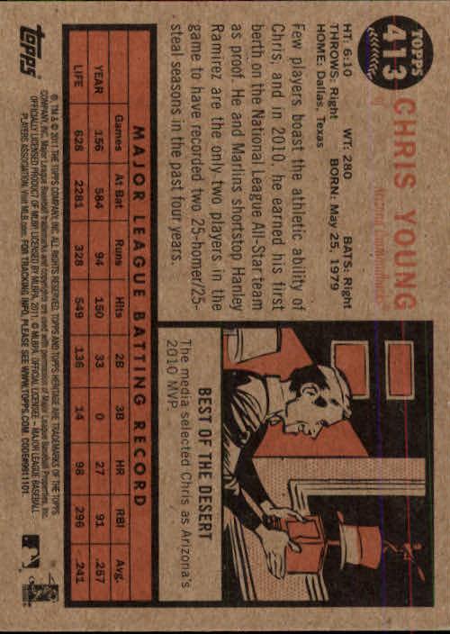 2011-Topps-Heritage-Baseball-Base-Singles-Pick-Your-Cards thumbnail 463