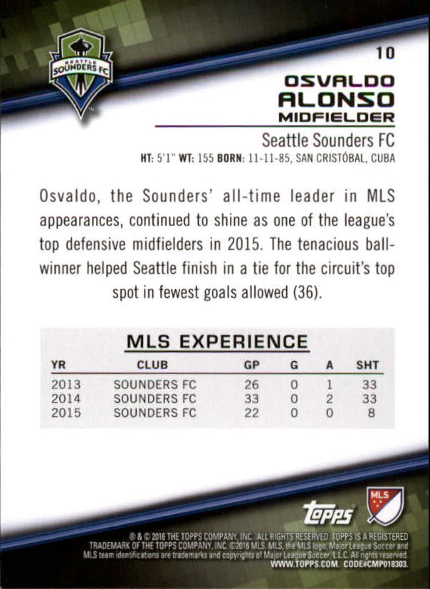 2016-Topps-MLS-Soccer-Base-Singles-Pick-Your-Cards thumbnail 15