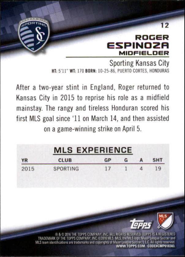 2016-Topps-MLS-Soccer-Base-Singles-Pick-Your-Cards thumbnail 19