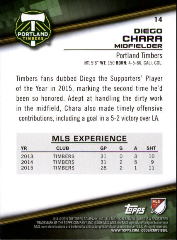 2016-Topps-MLS-Soccer-Base-Singles-Pick-Your-Cards thumbnail 21